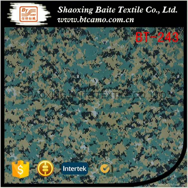 China product polyester cotton camouflage fabric for military uniform BT-243 1