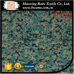 China product polyester cotton camouflage fabric for military uniform BT-243