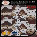 Custom Textile Nylon Cotton printed miltary camouflage fabric BT-210