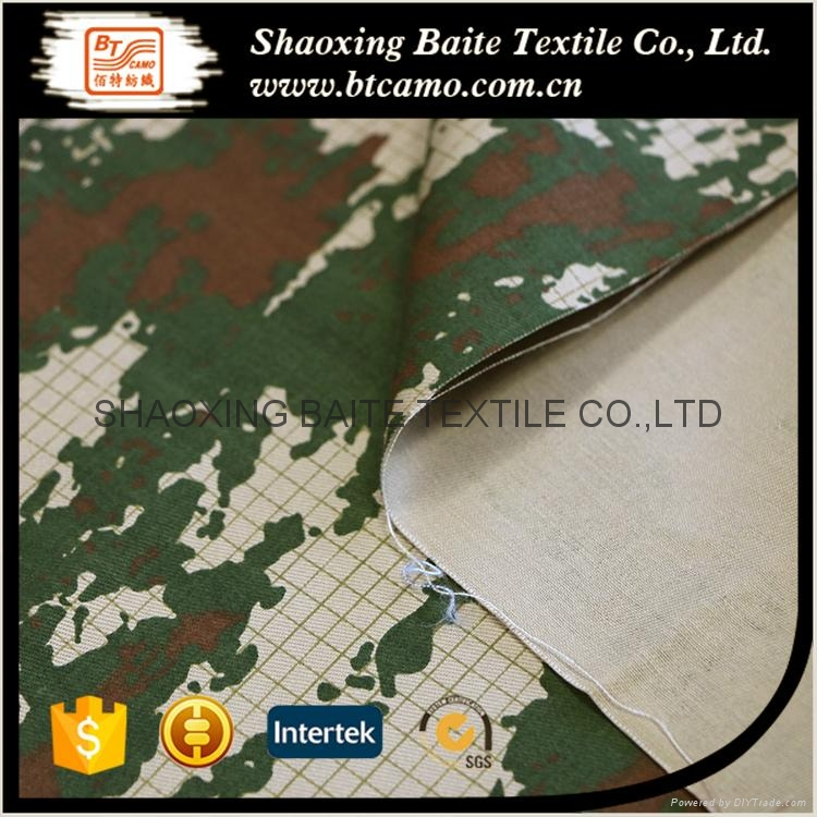 Wholesale 2016 New arrival printing miltary camouflage fabric BT-214 4