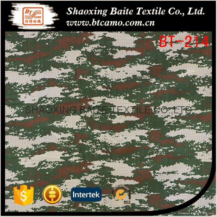 Wholesale 2016 New arrival printing miltary camouflage fabric BT-214 1