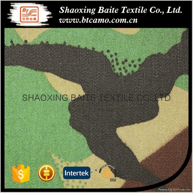 China supplier Textile high quality miltary camouflage fabric BT-220 5