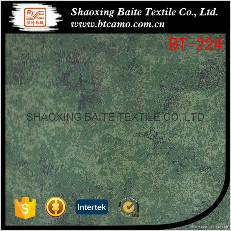 Hot selling China supplier camouflage fabric for mens clothing BT-224 1