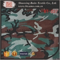 Sateen printing camouflage fabric for
