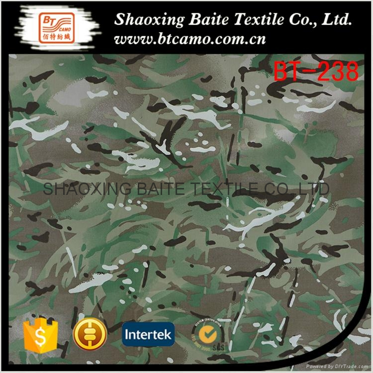Multicam printing camouflage fabric for military uniforms BT-238 1