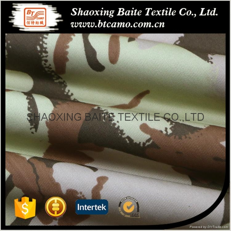 China high quality printing camouflage fabric BT-262 3