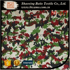 Wholesale cotton camouflage printing fabric BT-277