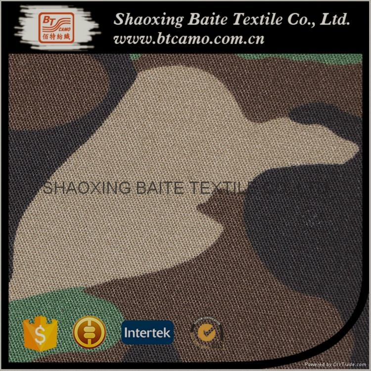 China manufacturer camouflage fabric for military uniform BT-179 5