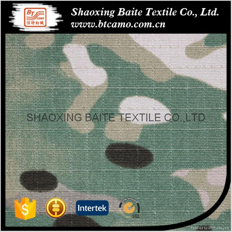 Multicam printing camouflage fabric for military uniforms BT-245 4