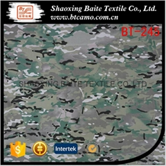 Multicam printing camouflage fabric for military uniforms BT-245