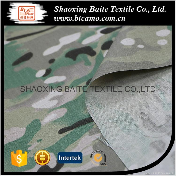 Multicam printing camouflage fabric for military uniforms BT-245 5