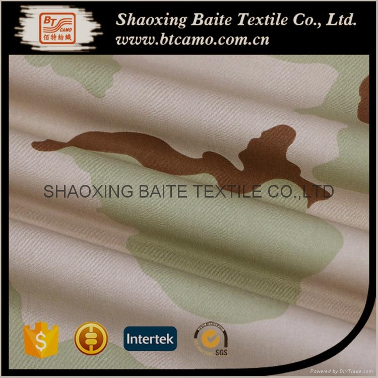 China supplier camouflage fabric for military uniform BT-246 3