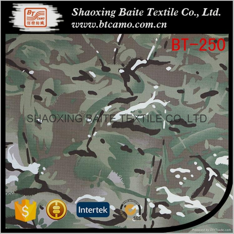 Made in china Textile woodland camouflage fabric BT-250 1