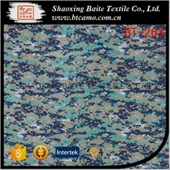China supplier cotton nylon printing camouflage fabric BT-263