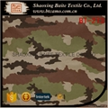 OEM Wholesale woodland camouflage fabric for military uniform BT-273