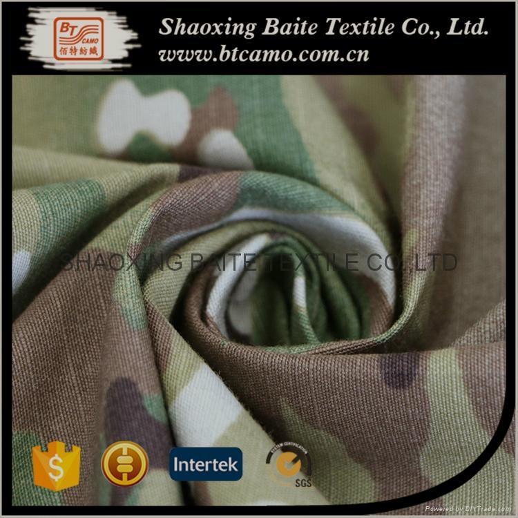Multicam ripstop printing CP camouflage fabric for military uniforms BT-276 2