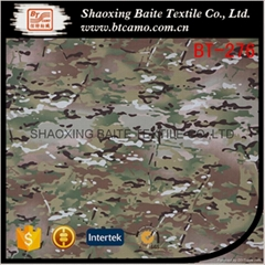 Multicam ripstop printing CP camouflage fabric for military uniforms BT-276