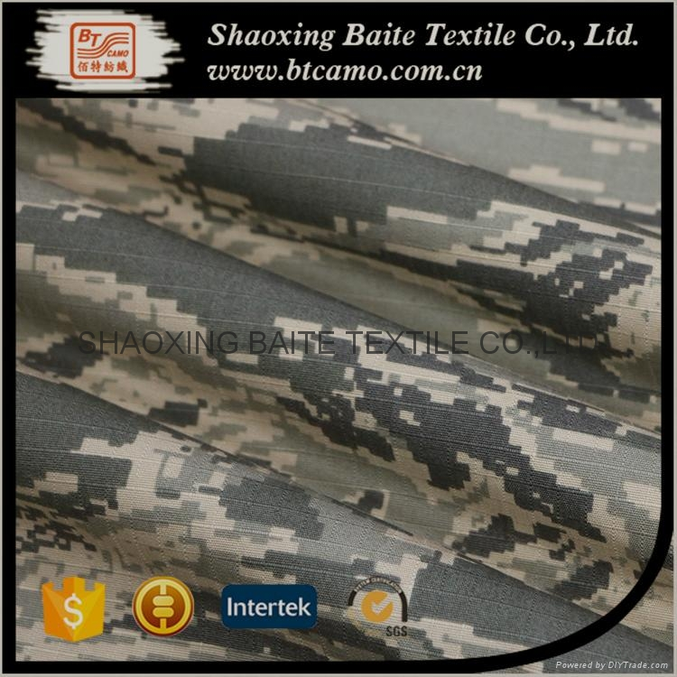 Custom Textile Nylon Cotton printed miltary camouflage fabric BT-282 3