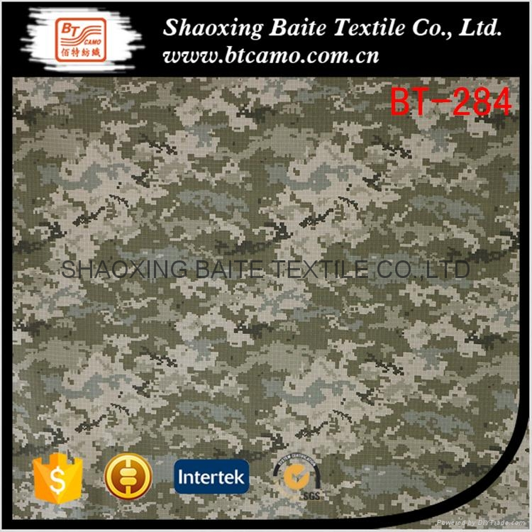Factory price printing camouflage fabric for military uniforms BT-284 1