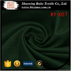 Wholesale designer green plain dyed fabric for mens suit KY-027