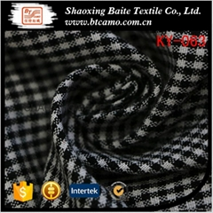 Cloth material yarn dyed shepherd check fabric for shirts KY-063