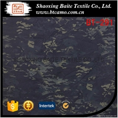 Multicam polyester cotton camouflage fabric for military uniform BT-291