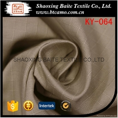 Cloth material cotton ripstop fabric for primary school uniform KY-064