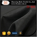 China supplier black polyester gabardine fabric for women dresses ZX-005