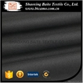Chinese clothing manufacturers black polyester fabric for garment ZX-023