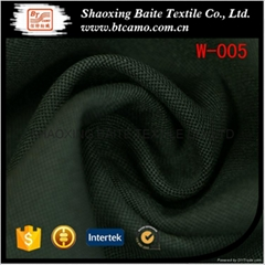 Yarn dyed wool polyester