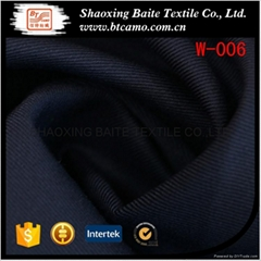 Wool polyester fabric for tuxedo suits W-006