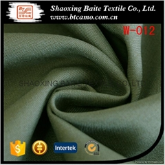 Wool polyester olive gre