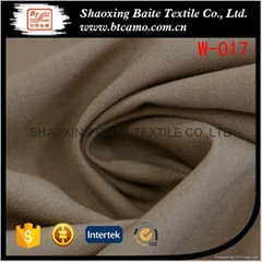 Yarn dyed wool polyester fabric for suit men W-017