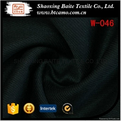 Factory wholesale fashion wool polyester fabric for italian suit W-046