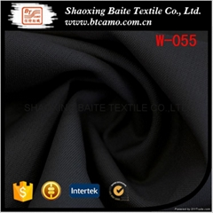 Fashion wool polyester fabric for suit men W-055