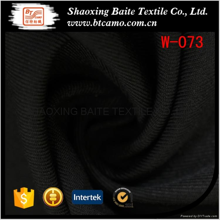 China supplier wool polyester fabric men's pants W-073