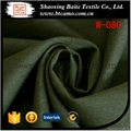 Yarn dyed wool polyester fabric for