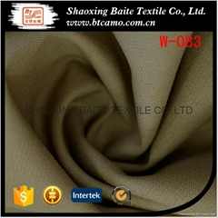 High quality wool polyester fabric for woman coat W-083
