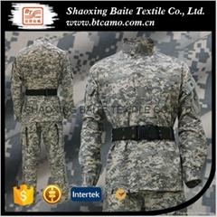 Digital military camouflage ACU uniform