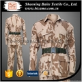 Wholesale OEM BDU desert military camouflage uniform