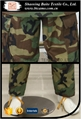 Woodland military camouflage BDU uniform