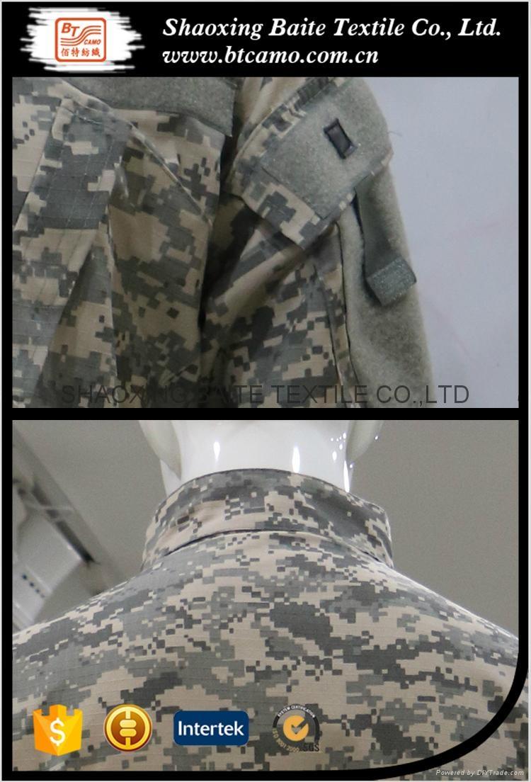 Digital military camouflage ACU uniform 4