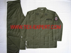 Olive Green BDU uniform