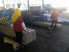 sell embossed corrugated steel sheet