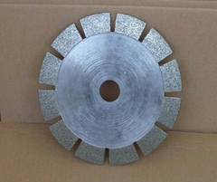 Diamond Slotted Saw Blade