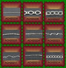 925 Sterling si  er chains-E11