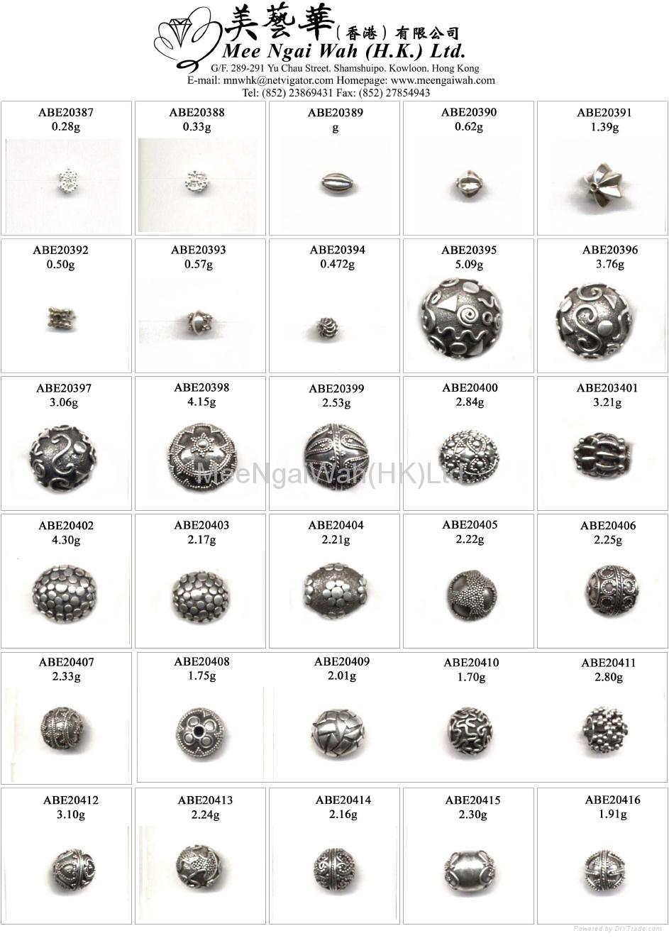 纯银珠 16
