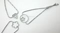纯银镶石手鍊 2