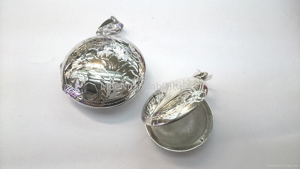 純銀香水瓶/相盒 2