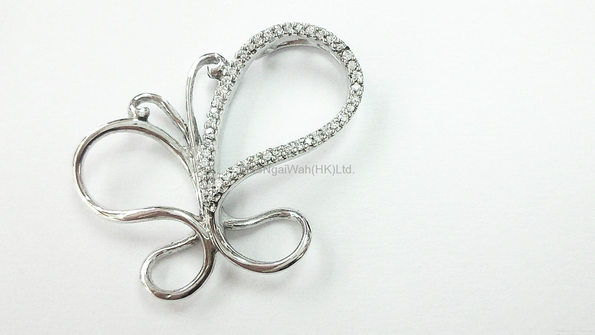 女装纯银饰品 [蝴蝶/ 十字架] 7